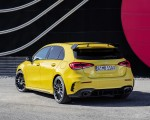 2019 Mercedes-AMG A35 4MATIC (Color: Sun Yellow) Rear Three-Quarter Wallpapers 150x120