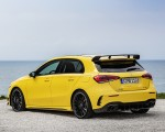 2019 Mercedes-AMG A35 4MATIC (Color: Sun Yellow) Rear Three Quarter Wallpapers 150x120