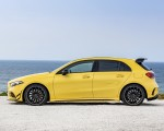 2019 Mercedes-AMG A35 4MATIC (Color: Sun Yellow) Side Wallpapers 150x120
