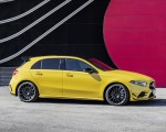 2019 Mercedes-AMG A35 4MATIC (Color: Sun Yellow) Side Wallpapers 150x120 (18)