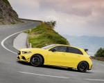 2019 Mercedes-AMG A35 4MATIC (Color: Sun Yellow) Side Wallpapers 150x120 (8)