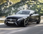 2019 Mercedes-AMG C43 Coupe 4MATIC Night Package Front Three-Quarter Wallpapers 150x120 (2)