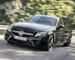 2019 Mercedes-AMG C43 Coupe 4MATIC Night Package Front Three-Quarter Wallpapers 150x120 (3)