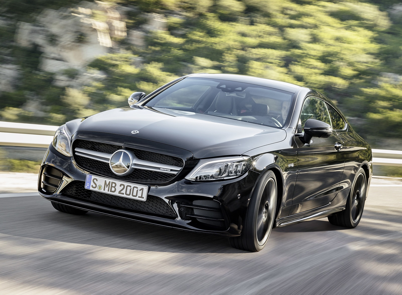 2019 Mercedes-AMG C43 Coupe 4MATIC Night Package Front Three-Quarter Wallpapers (3)