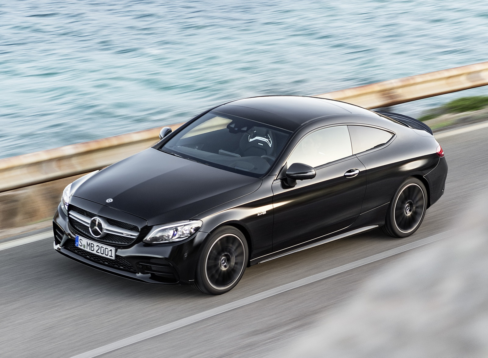 2019 Mercedes-AMG C43 Coupe 4MATIC Night Package Front Three-Quarter Wallpapers (9)