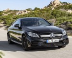 2019 Mercedes-AMG C43 Coupe 4MATIC Night Package Front Wallpapers 150x120 (4)