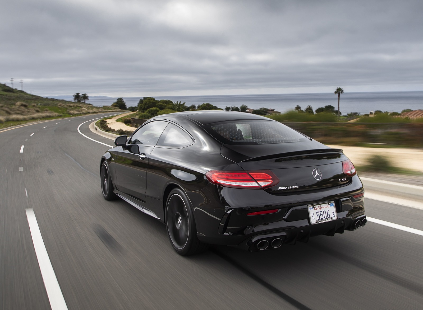 2019 Mercedes-AMG C43 Coupe Rear Three-Quarter Wallpapers