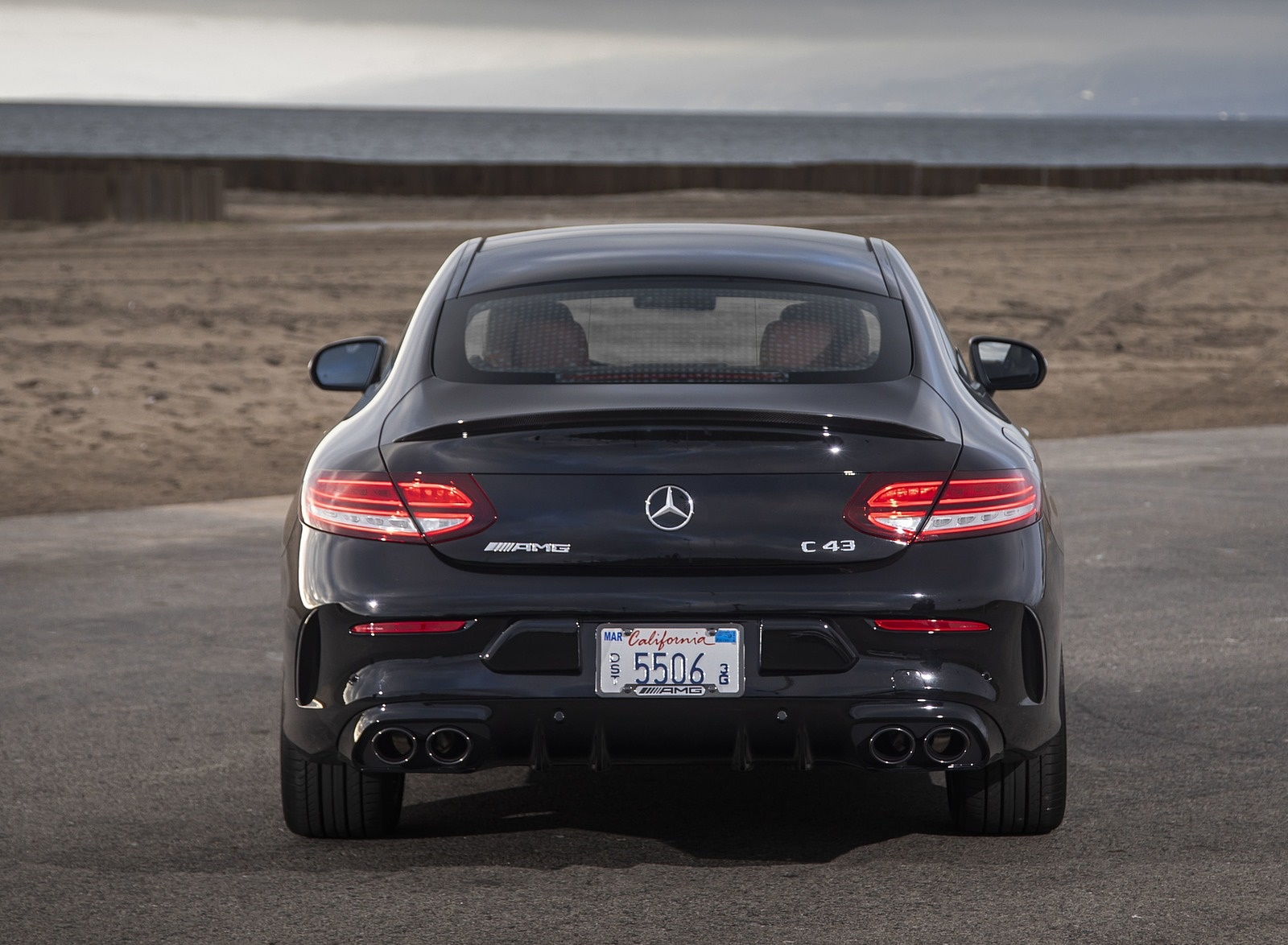 2019 Mercedes-AMG C43 Coupe Rear Wallpapers (111) - NewCarCars