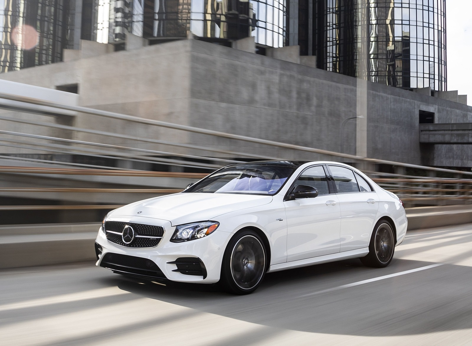 2019 Mercedes-AMG E53 Sedan Front Three-Quarter Wallpapers (1)
