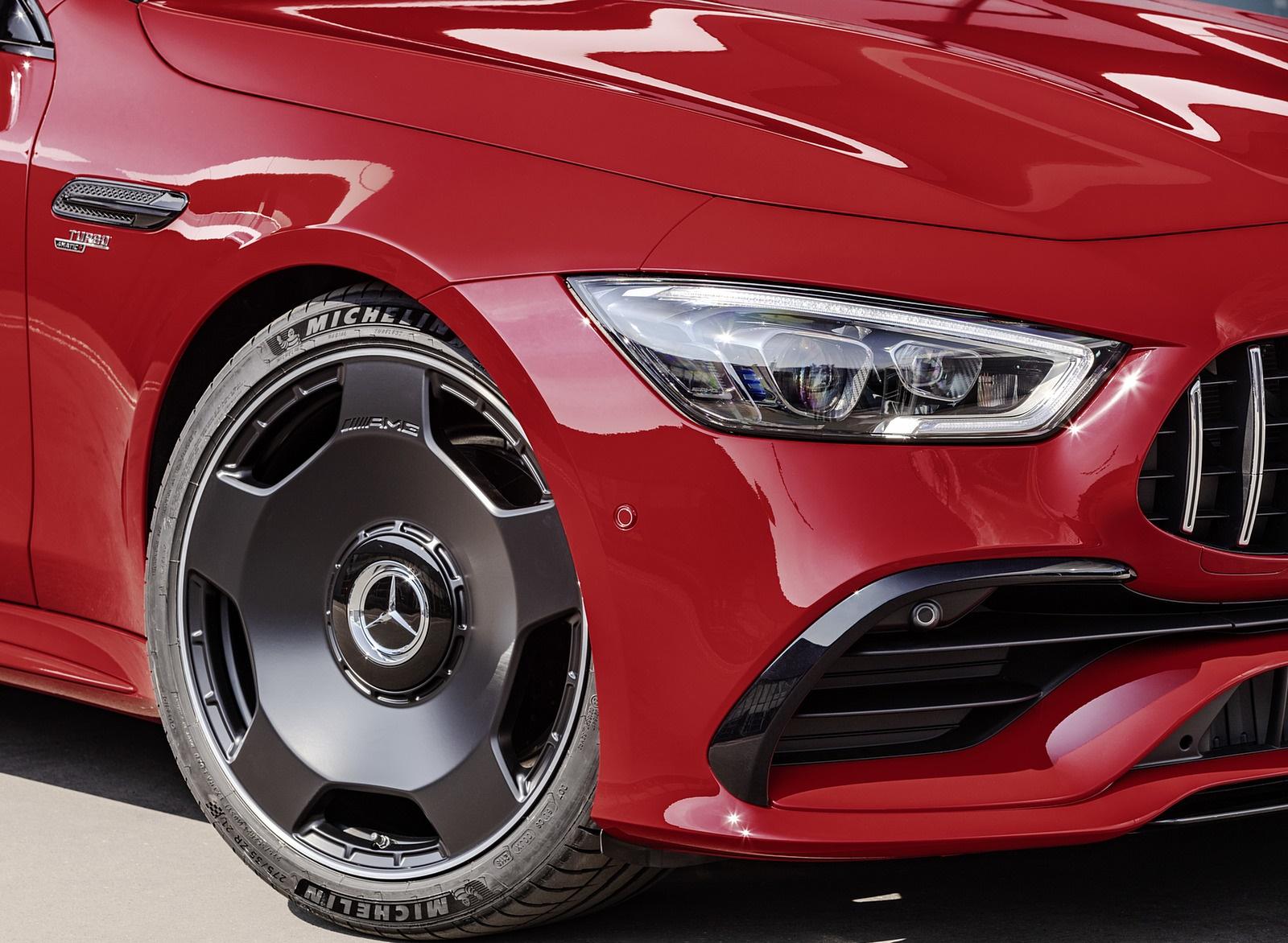 2019 Mercedes-AMG GT 43 4MATIC+ 4-Door Coupé (Color: Jupiter Red) Detail Wallpapers (10)