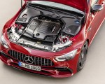 2019 Mercedes-AMG GT 43 4MATIC+ 4-Door Coupé (Color: Jupiter Red) Engine Wallpapers 150x120 (12)