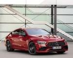 2019 Mercedes-AMG GT 43 4MATIC+ 4-Door Coupé (Color: Jupiter Red) Front Three-Quarter Wallpapers 150x120 (4)