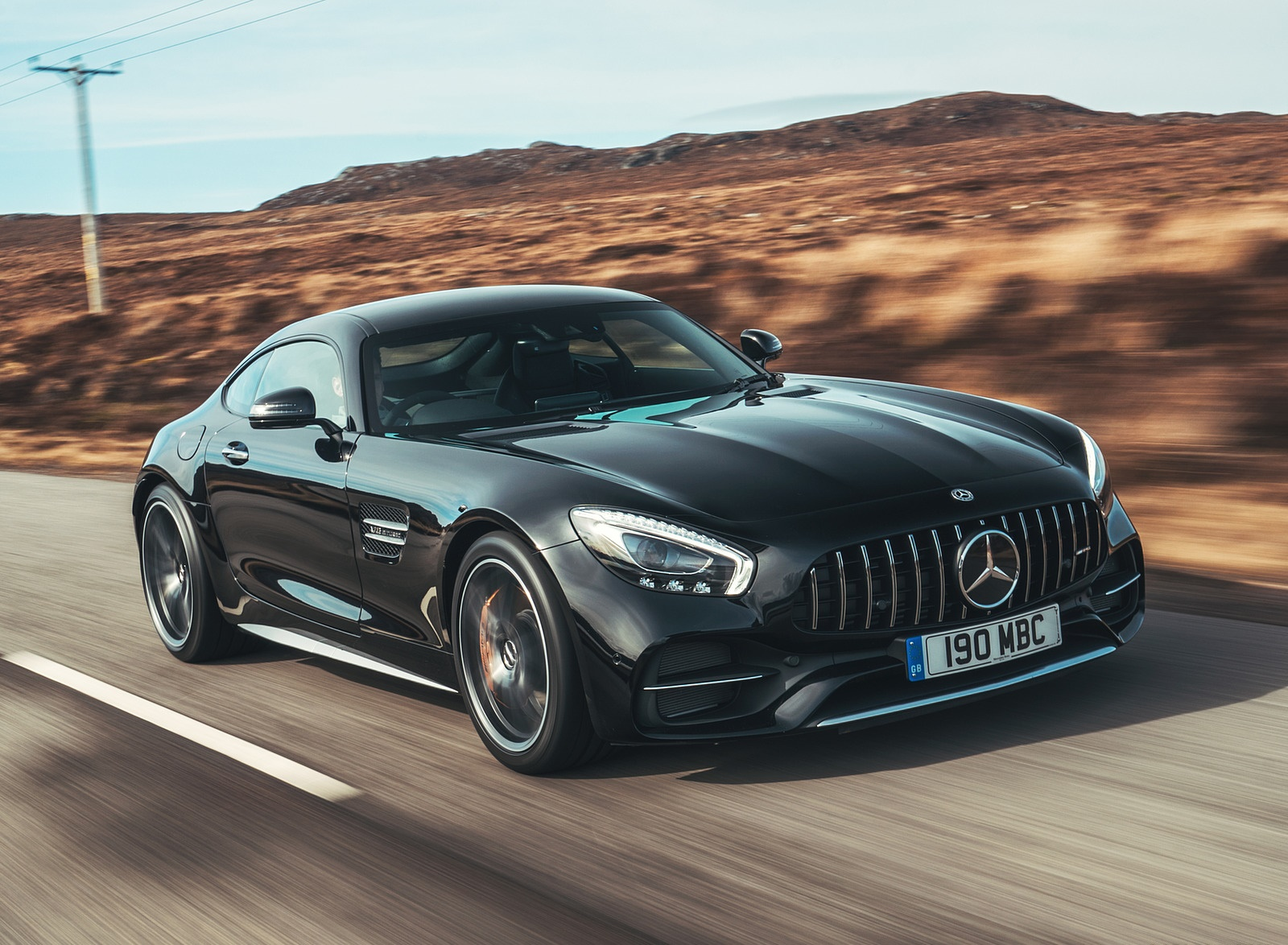 2019 Mercedes-AMG GT C Coupe Front Three-Quarter Wallpaper (7)