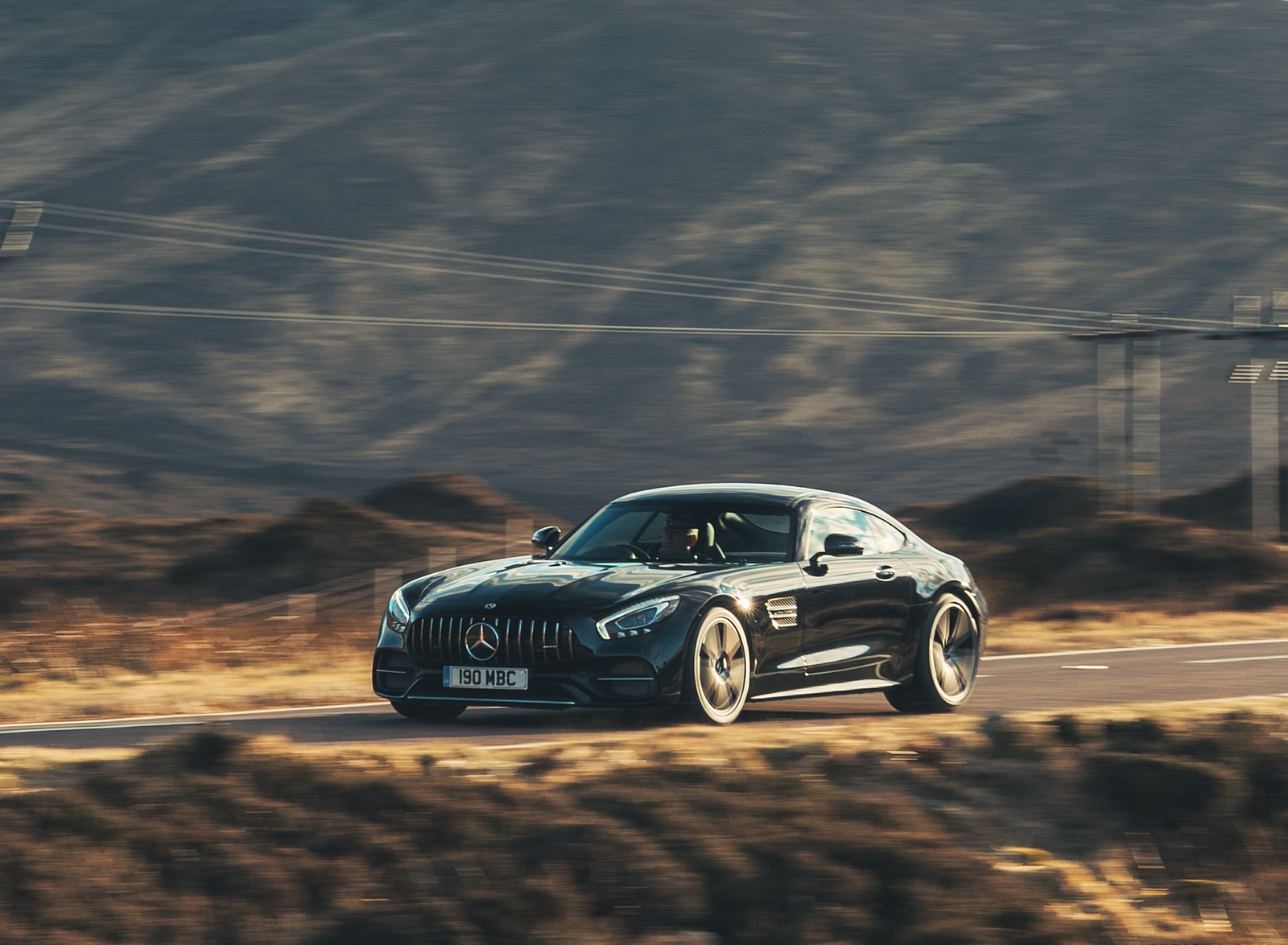 2019 Mercedes-AMG GT C Coupe Front Three-Quarter Wallpaper (14)