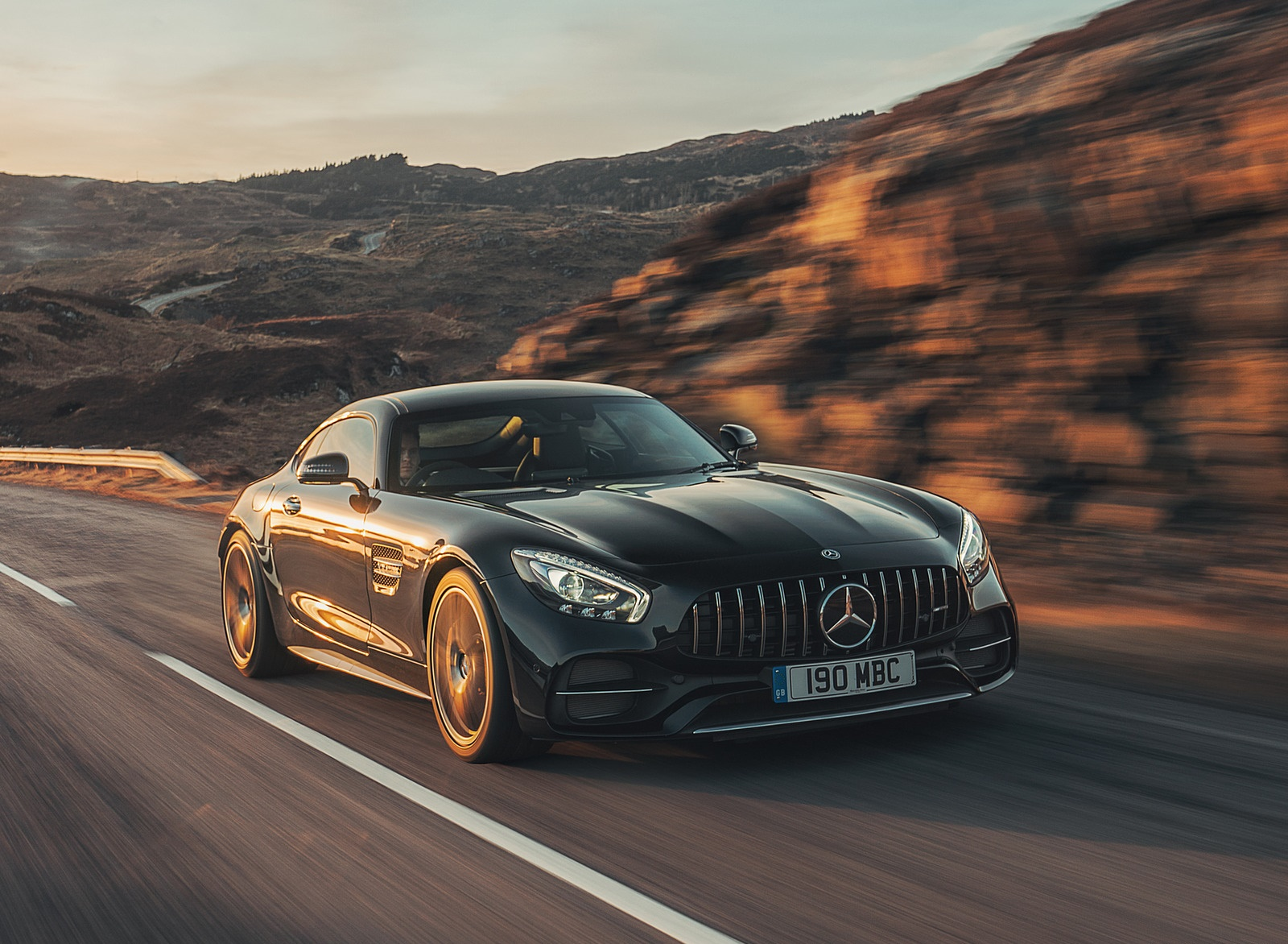 2019 Mercedes-AMG GT C Coupe Front Three-Quarter Wallpaper (8)