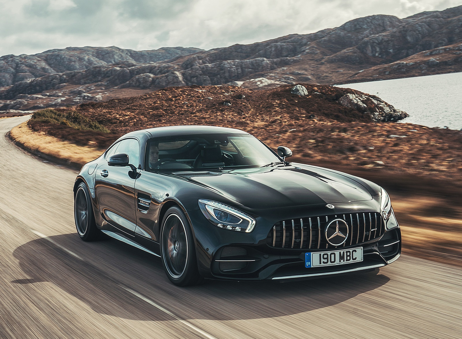 2019 Mercedes-AMG GT C Coupe Front Three-Quarter Wallpaper (1)