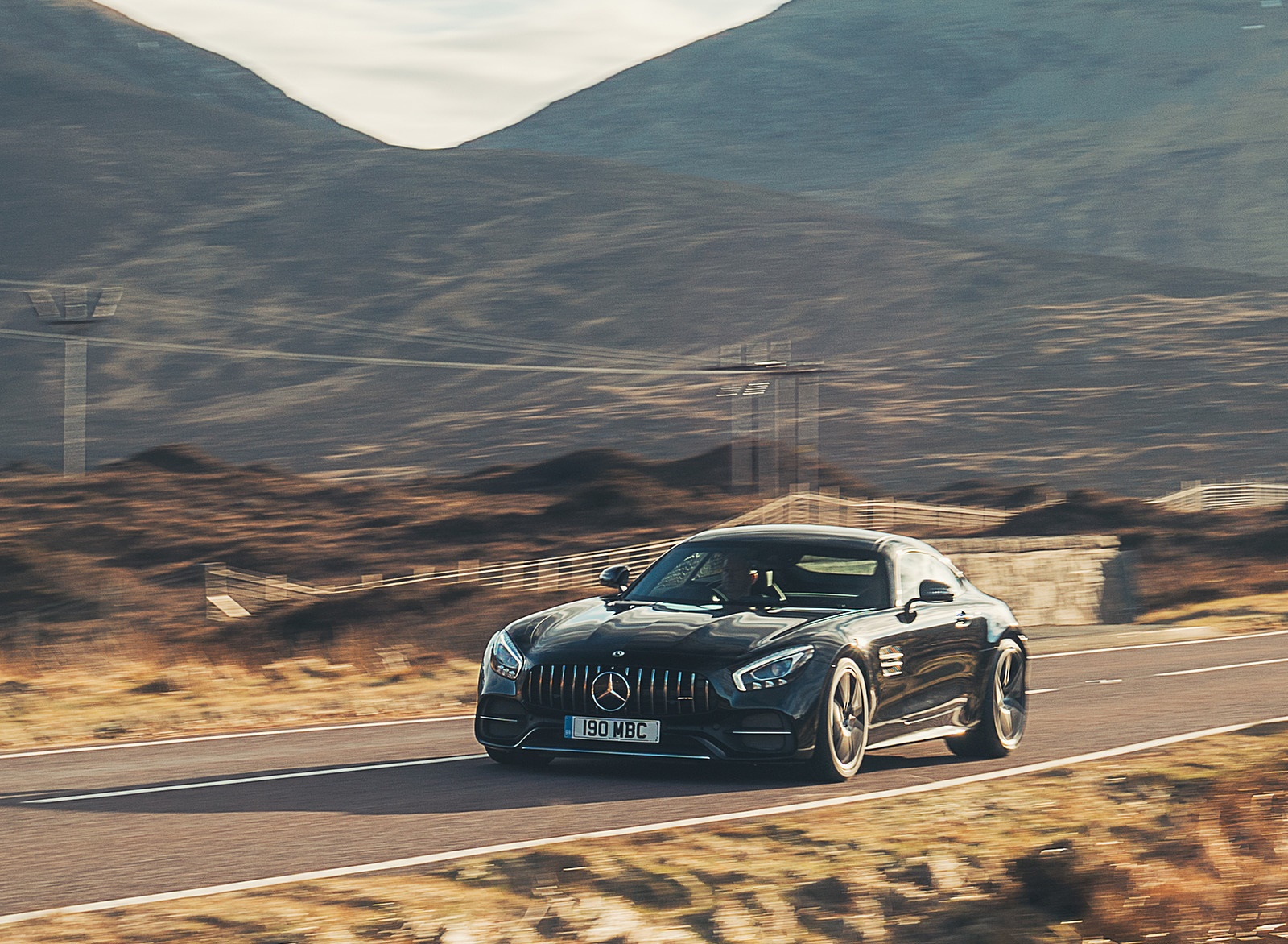 2019 Mercedes-AMG GT C Coupe Front Three-Quarter Wallpaper (15)