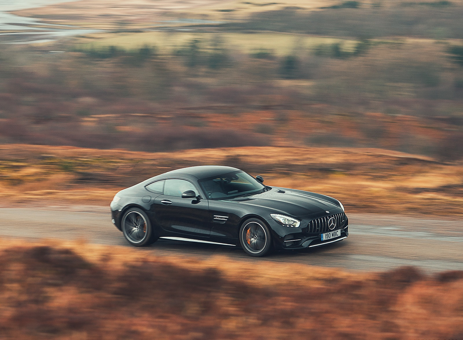 2019 Mercedes-AMG GT C Coupe Front Three-Quarter Wallpaper (10)