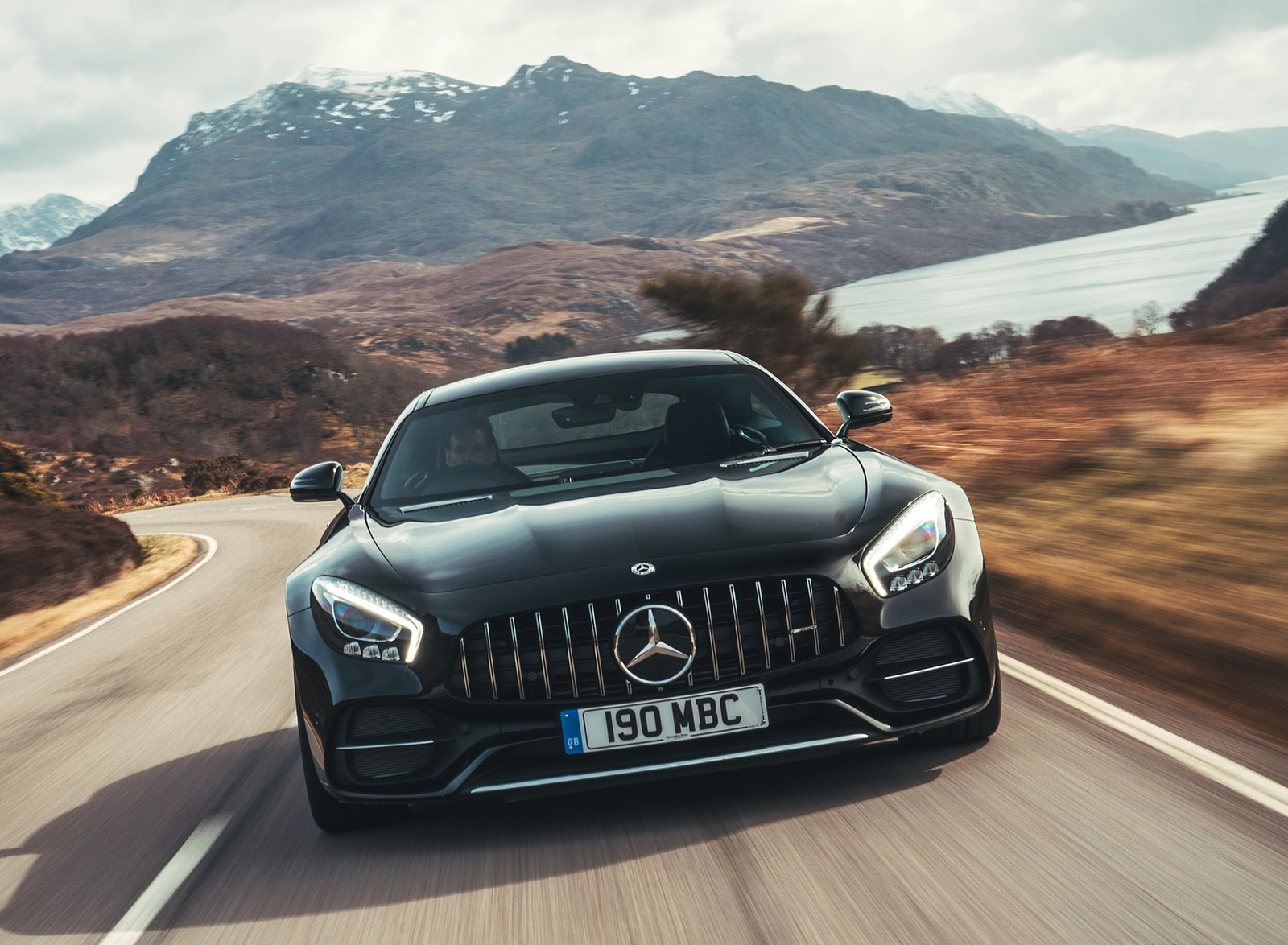 2019 Mercedes-AMG GT C Coupe Front Wallpaper (11)