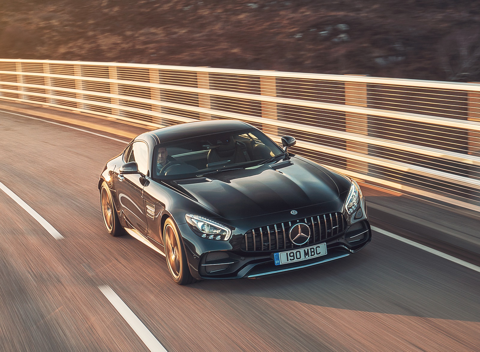 2019 Mercedes-AMG GT C Coupe Front Wallpaper (5)