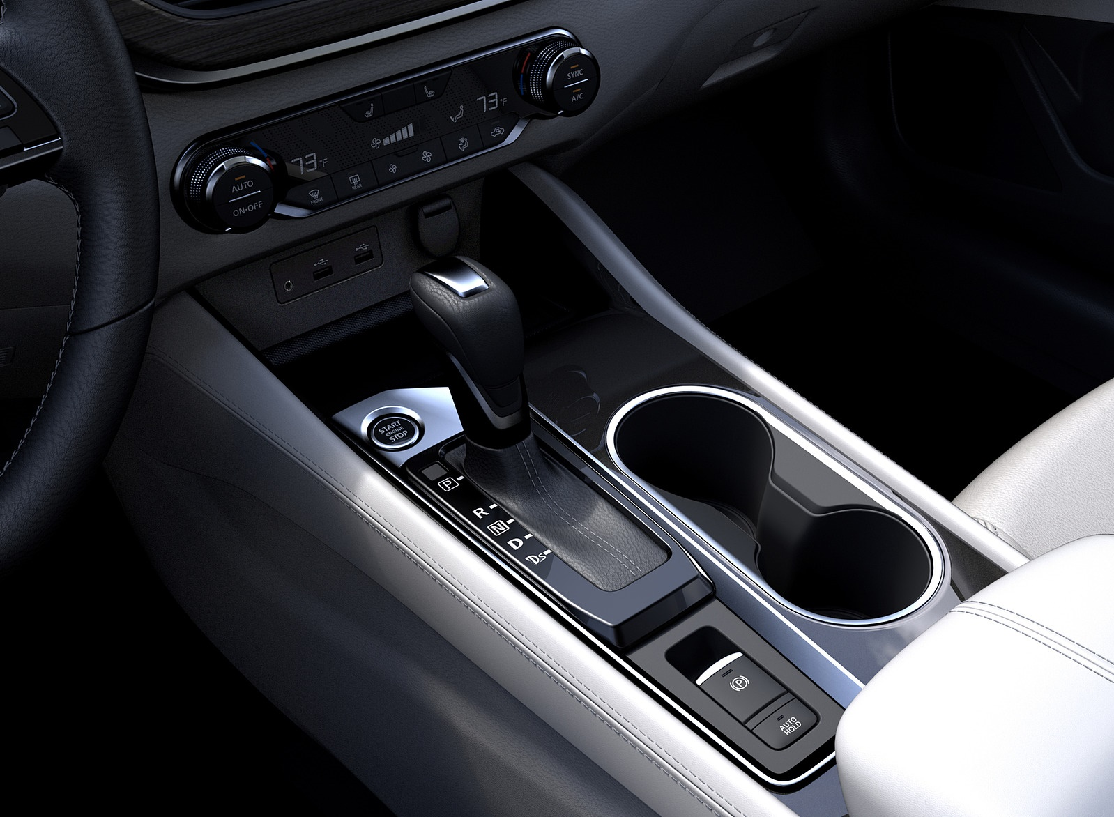 2019 Nissan Altima Interior Detail Wallpapers (15)