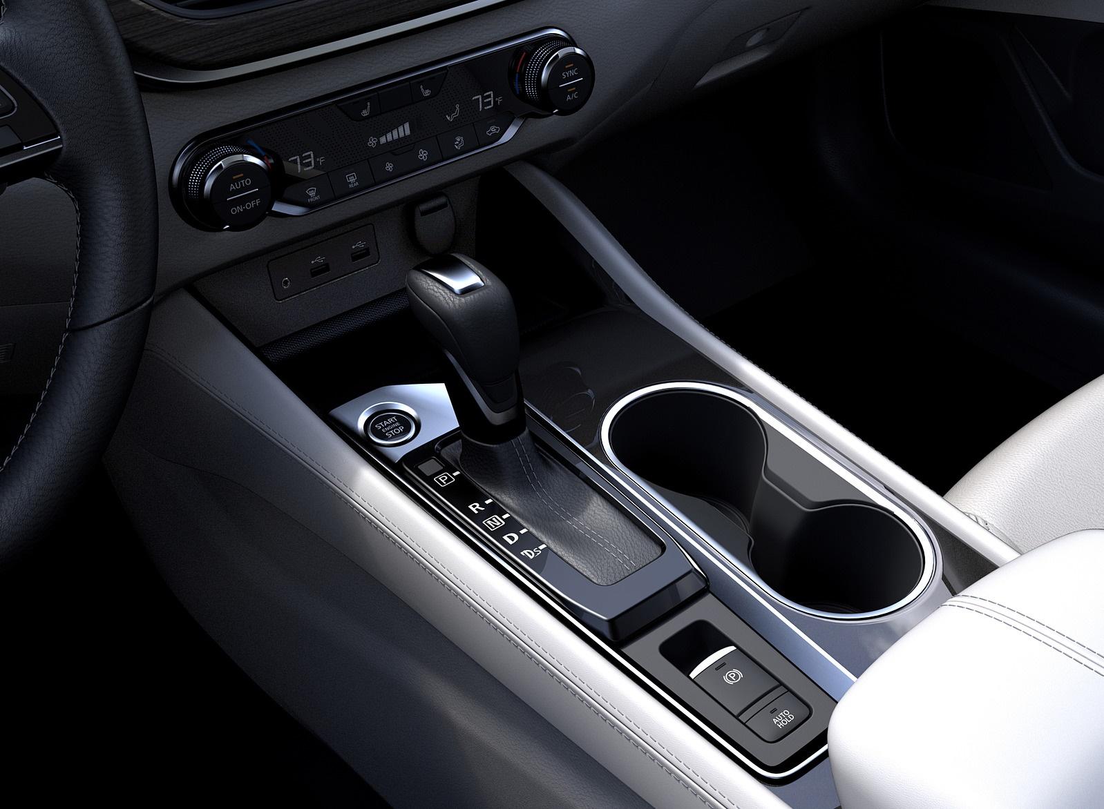 2019 Nissan Altima Interior Detail Wallpaper (15)