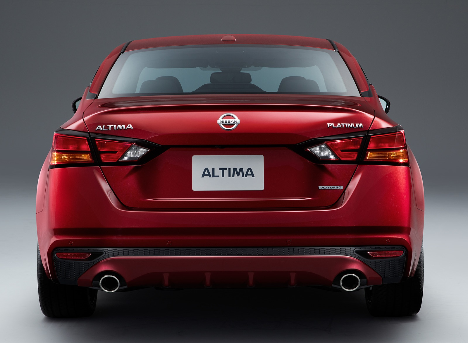 2019 Nissan Altima Rear Wallpapers (10)