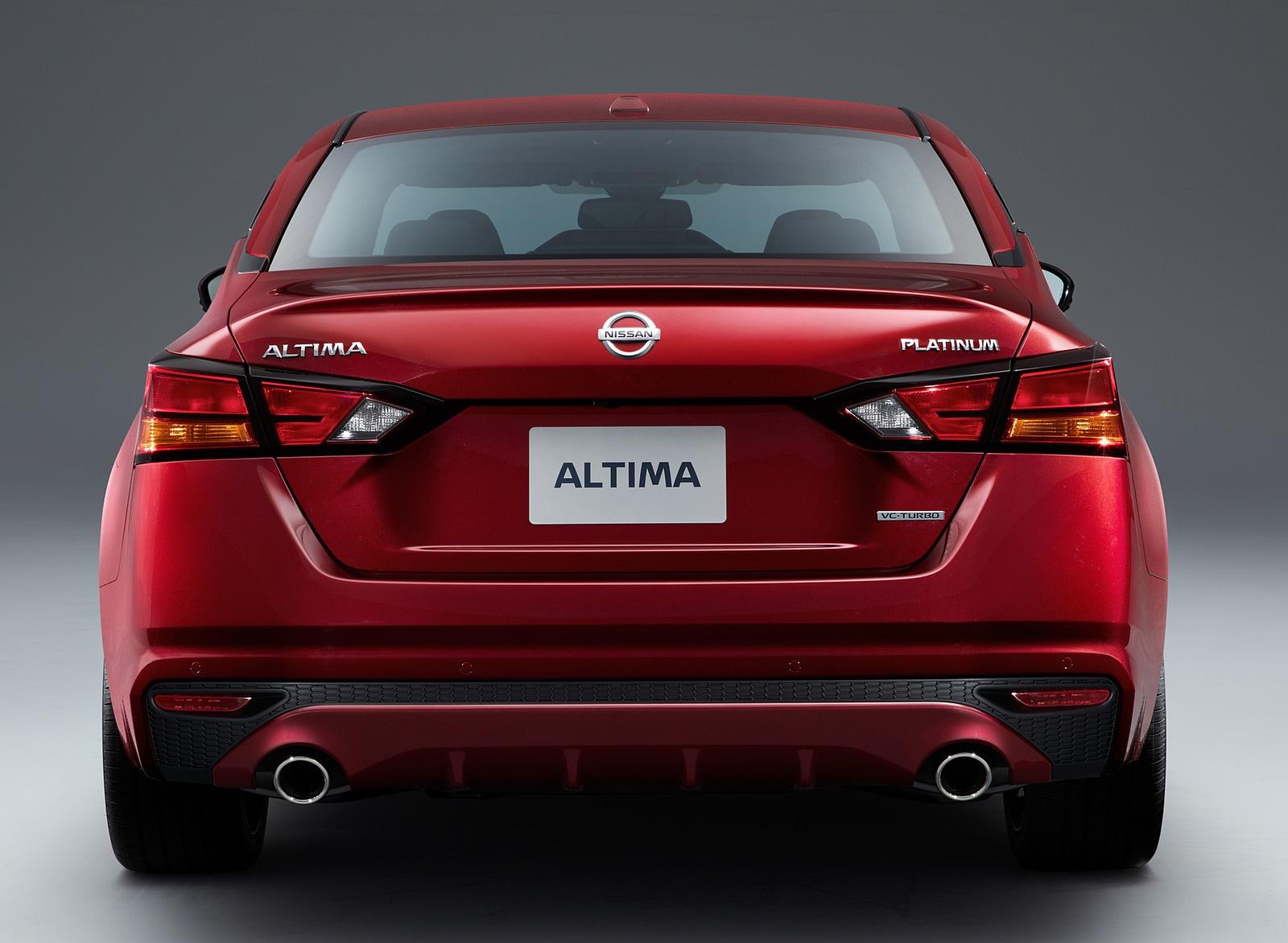 2019 Nissan Altima Rear Wallpaper (10)