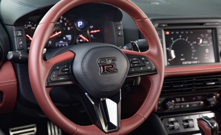 2019 Nissan GT-R Interior Steering Wheel Wallpapers 450x275 (13)