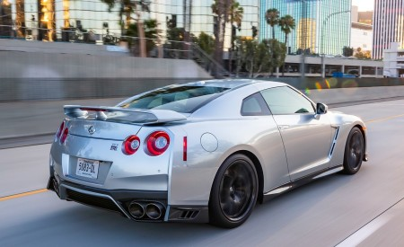 2019 Nissan GT-R Rear Three-Quarter Wallpapers 450x275 (3)
