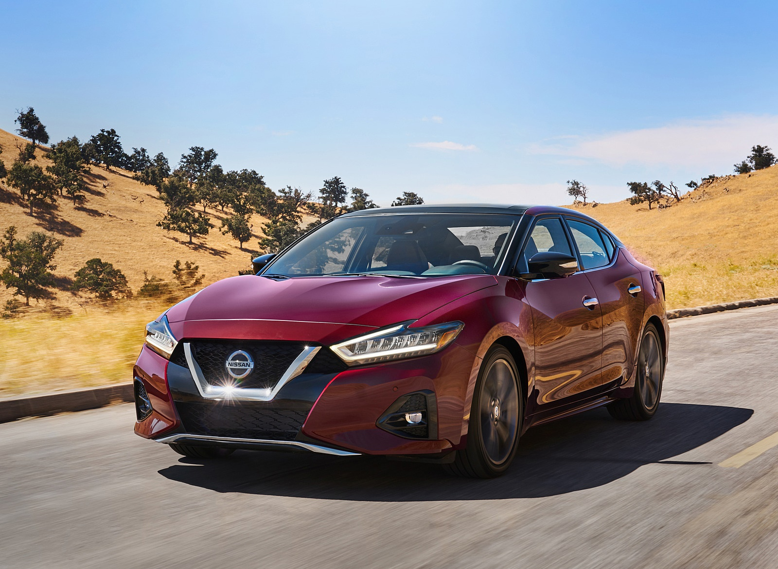 2019 Nissan Maxima Front Three-Quarter Wallpapers (1)