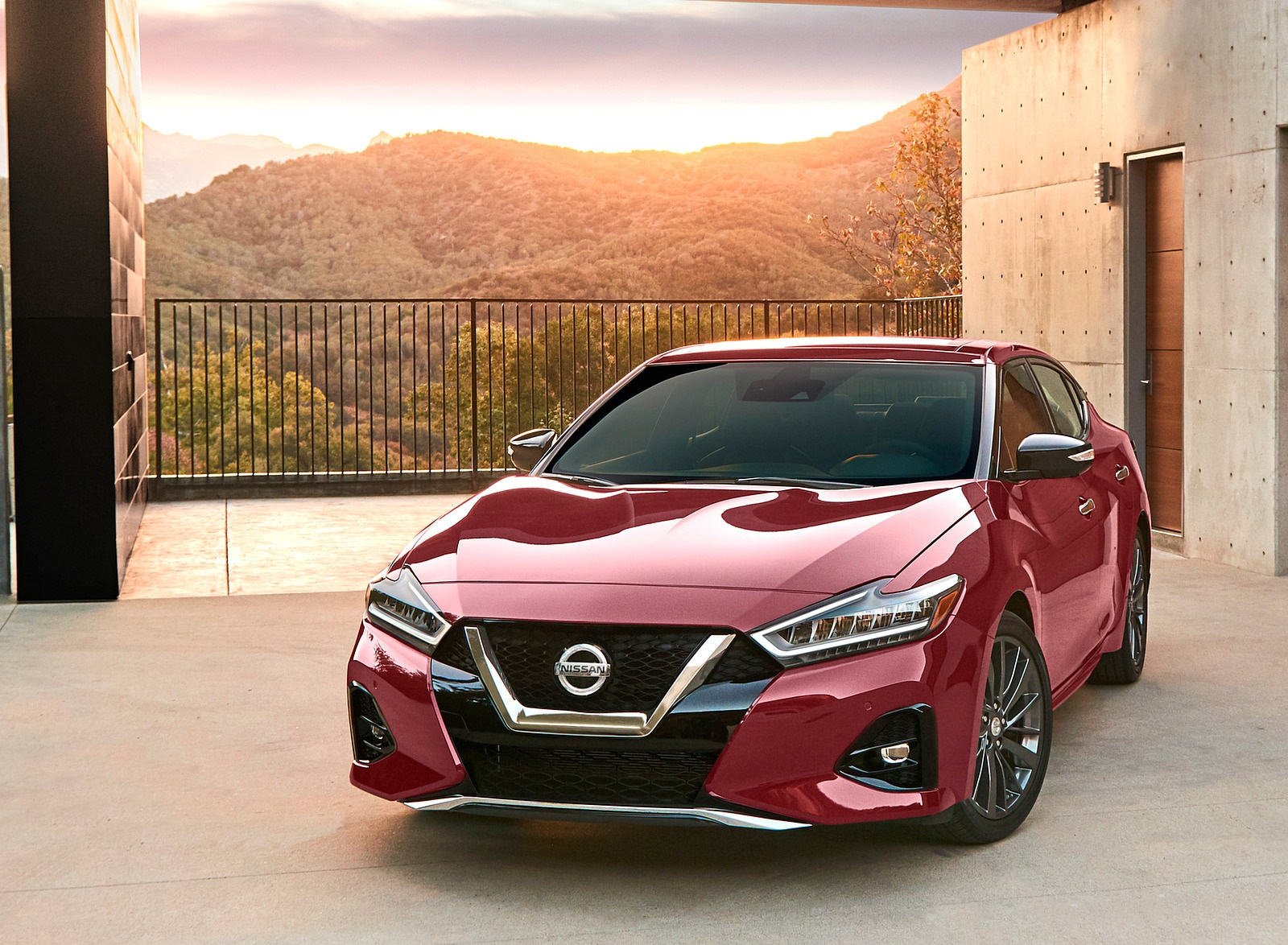 2019 Nissan Maxima Front Wallpapers (8)