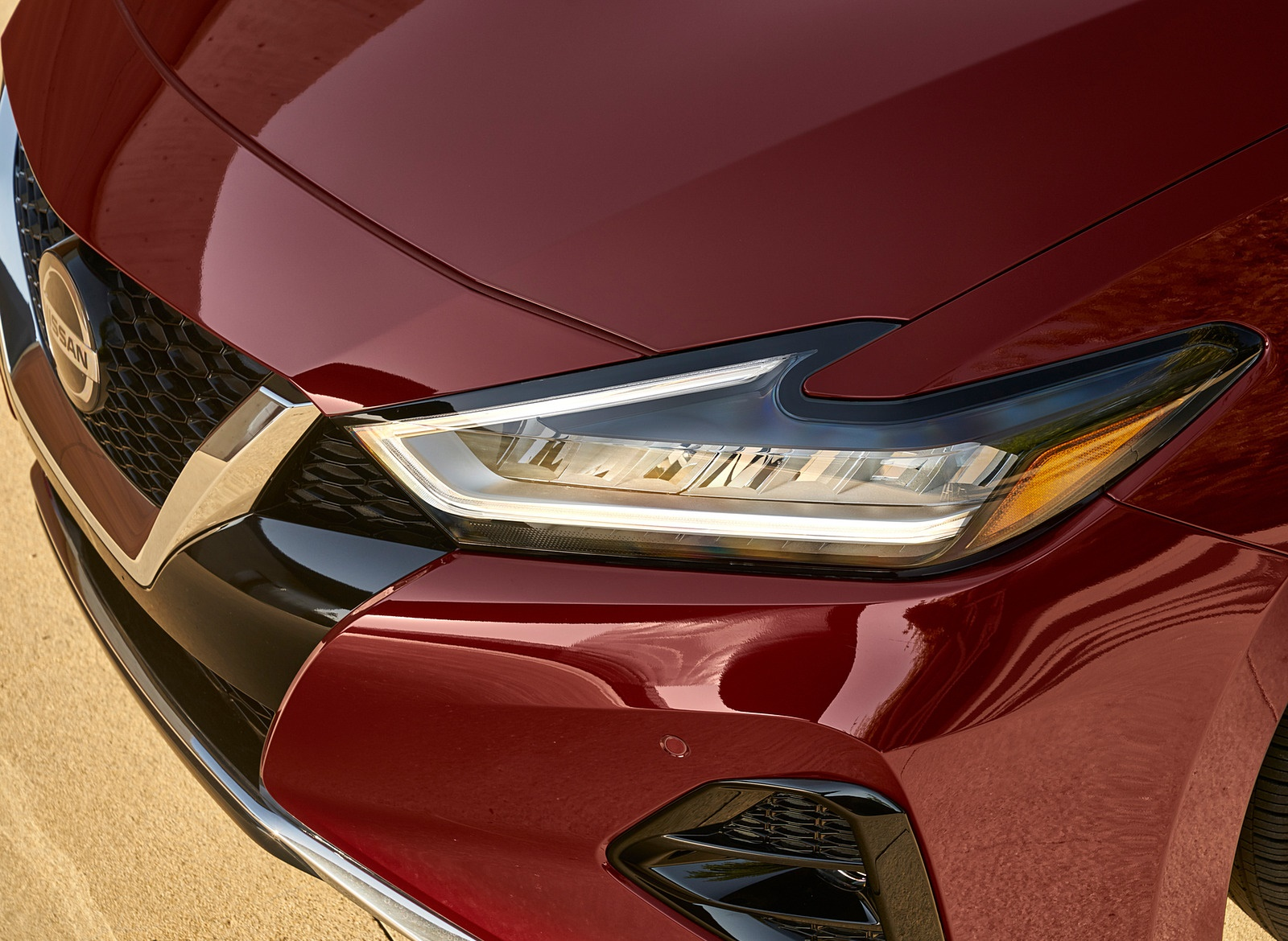 2019 Nissan Maxima Headlight Wallpapers (10)