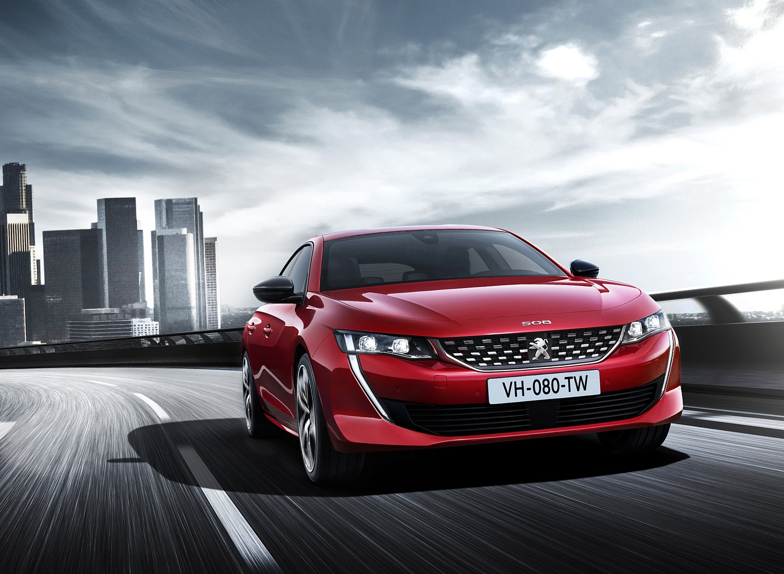2019 Peugeot 508 Front Wallpapers (1)