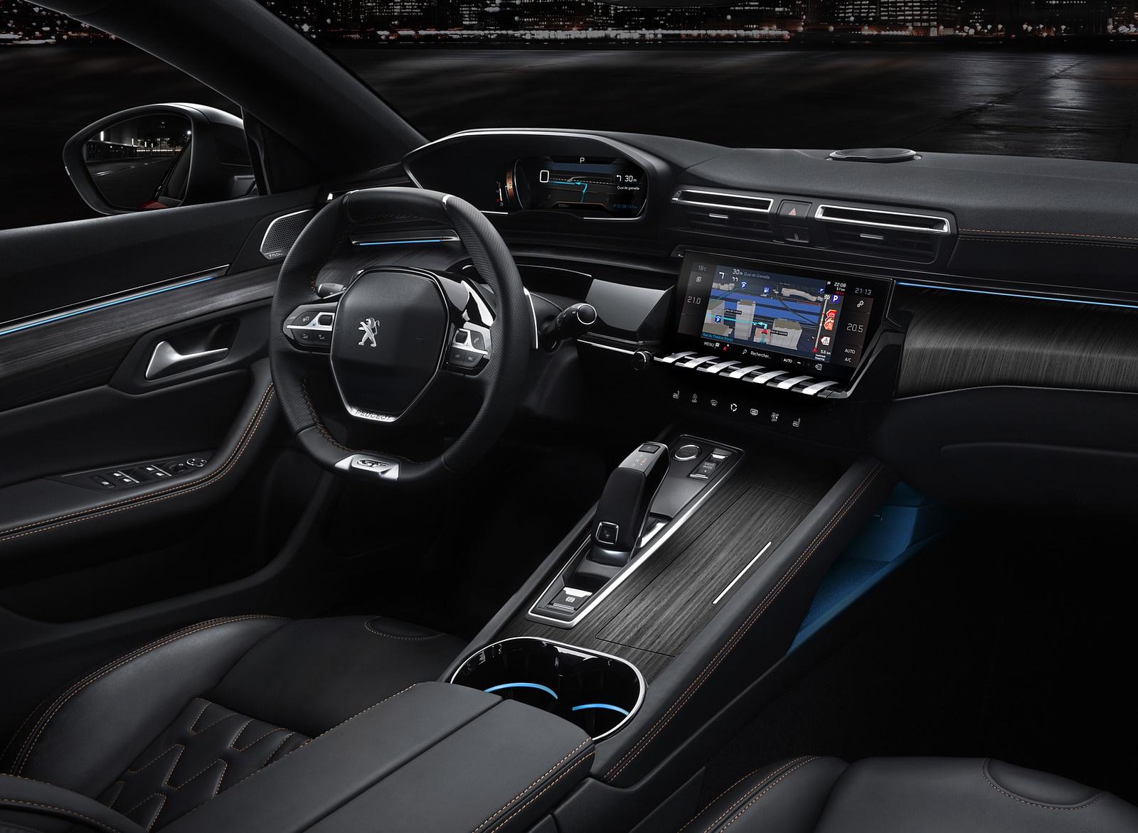 2019 Peugeot 508 Interior Wallpapers (7)