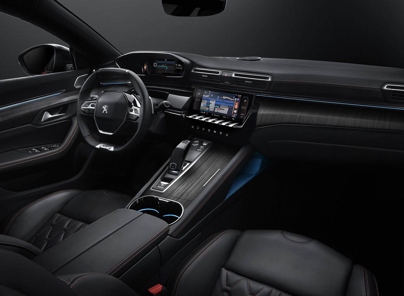 2019 Peugeot 508 Interior Wallpapers (6)