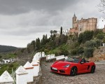 2019 Porsche 718 Boxster T (Color: Guards Red) Front Three-Quarter Wallpapers 150x120 (13)