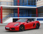 2019 Porsche 718 Boxster T (Color: Guards Red) Front Three-Quarter Wallpapers 150x120 (11)