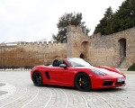 2019 Porsche 718 Boxster T (Color: Guards Red) Front Three-Quarter Wallpapers 150x120 (12)