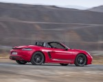 2019 Porsche 718 Boxster T (Color: Guards Red) Rear Three-Quarter Wallpapers 150x120 (9)