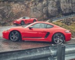 2019 Porsche 718 Boxster and Cayman T Side Wallpaper 150x120 (10)