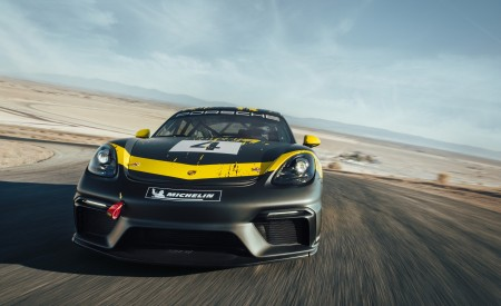 2019 Porsche 718 Cayman GT4 Clubsport Wallpapers HD