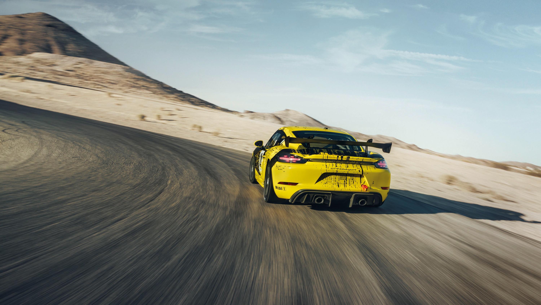 2019 Porsche 718 Cayman GT4 Clubsport Rear Wallpaper (11)
