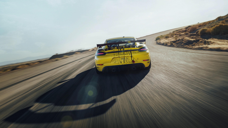 2019 Porsche 718 Cayman GT4 Clubsport Rear Wallpaper (9)