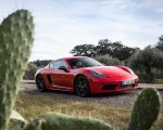 2019 Porsche 718 Cayman T (Color: Guards Red) Front Three-Quarter Wallpapers 150x120 (41)
