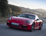 2019 Porsche 718 Cayman T (Color: Guards Red) Front Three-Quarter Wallpapers 150x120 (30)