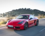 2019 Porsche 718 Cayman T (Color: Guards Red) Front Three-Quarter Wallpapers 150x120 (31)