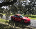 2019 Porsche 718 Cayman T (Color: Guards Red) Front Three-Quarter Wallpapers 150x120 (32)