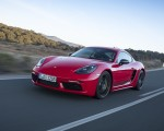 2019 Porsche 718 Cayman T (Color: Guards Red) Front Wallpapers 150x120 (36)