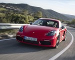 2019 Porsche 718 Cayman T (Color: Guards Red) Front Wallpapers 150x120 (33)